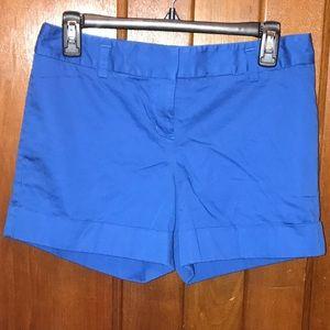 Express Cuffed Royal Blue Shorts Size 2